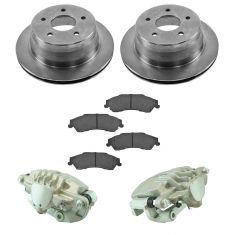98-05 Blazer, S10 NEW Rear Disc Brake Caliper, Ceramic Brake Pad & Rotor Kit