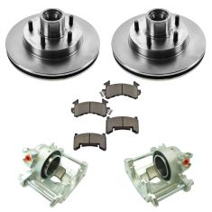 83-97 Blazer, S10 w/2WD NEW Front Brake Caliper, Ceramic Brake Pad & Rotor Kit