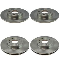 94-97 Miata 99-05 Miata Front & Rear Disc Brake Rotor Set