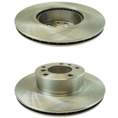 89-95 525I; 93 525IT; 94-95 530i; 89-93 535i Front Disc Brake Rotor Pair