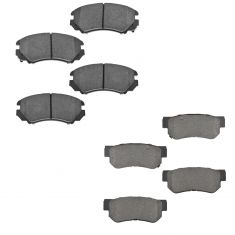 Hyundai Kia Multifit Front & Rear Premium Posi Ceramic Disc Brake Pad Kit