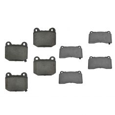 04-14 WRX STI Front & Rear Premium Posi Ceramic Brake Pad Kit