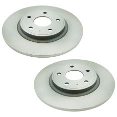 12-16 T&C; 11-17 GC; 12-17 Journey; 12-15 C/V; 12-14 Routan 328mm Rear Brake Rotor Pair