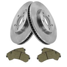 14-15 Lexus IS250 Front Posi Ceramic Brake Pad & Rotor Kit