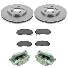 05-10 Honda Odyssey Front Disc Brake Caliper, Ceramic Brake Pad & Rotor Kit