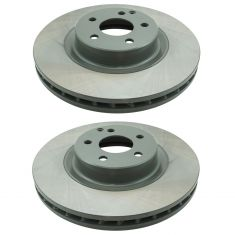 06-15 MB CLS500, CLS550, E550, GLK250, GLK350 Premium E-Coated Front Rotor Pair