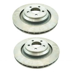 Dodge Chrysler Multifit Rear Disc Brake Rotor Pair