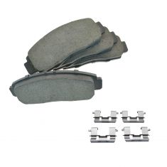 01-03 CL; 99-04 RL; 99-08 TL; 04-10 TSX; 03-10 Accord Front Posi Ceramic Pads & Hardware Kit