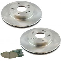 12-15 Civic Front Premium Posi Ceramic Disc Brake Pad & Rotor Kit