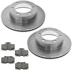 96-00 4 Runner w/ 15in Wheels Front Posi Ceramic Pad & Rotor Kit