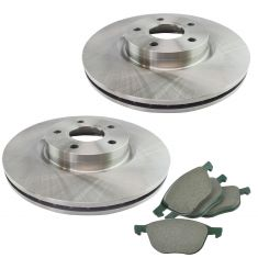 13-16 Escape FWD Front Premium Posi Ceramic Disc Brake Pad & Rotor Kit