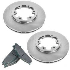 Nissan Multifit Front Premium Posi Ceramic Disc Brake Pad & Rotor Kit