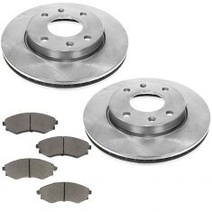 01 Optima Front Premium Posi Ceramic Brake Pad & Rotor Kit