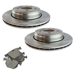 04-07 525i; 08-10 528i; 04-07 530i Rear Posi Ceramic Pad & Rotor Kit