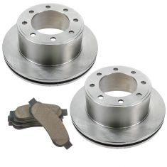 08-12 F250, F350 Rear Premium Posi Ceramic Pad & Rotor Kit