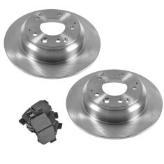 91-95 Legend; 96-98 RL; 95-98 Odyssey; 96-99 Oasis Rear Ceramic Pad & Rotor Kit