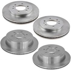09 F150 Front & Rear Disc Brake Rotor Kit