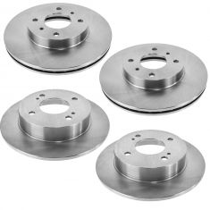99-02 G20; 93-01 Altima; 00-06 Sentra Front & Rear Rotor Kit