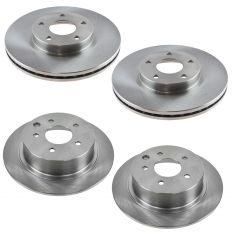 13 Altima Sedan, 14-16 Altima Front & Rear Rotor Kit