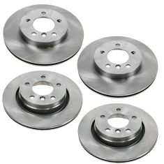 BMW 3 Series Front & Rear Brake Rotor Kit