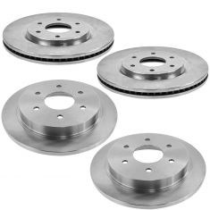 06-07 QX56; 06-07 Armada Front & Rear Brake Rotor Kit