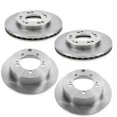 Chrysler Dodge Eagle Mitsubishi Multifit Front & Rear Rotor Kit