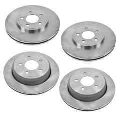 03-11 Crown Vic, Grand Marquis; 03-04 Marauder F&R Rotor Kit