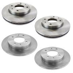 99-06 Elantra; 99-01 Tiburon Front & Rear Brake Rotor Kit