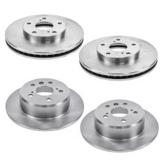 96-96 ES300; 92-96 Camry 3.0L Front & Rear Brake Rotor Kit