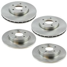 12-16 Ford Fucus Exc. ST Models Front & Rear Rotor Kit