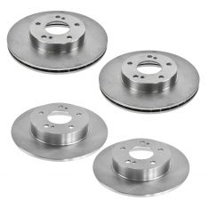 96-99 I30; 94-99 Nissan Maxima Front & Rear Brake Rotor Kit
