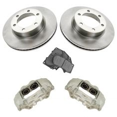 03-07 Sequoia; 00-06 Tundra Front Brake Caliper, Posi Ceramic Pads & Performance Rotor Kit