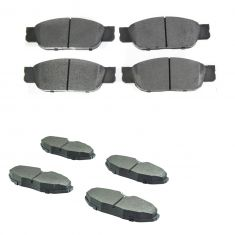 02-05 Thunderbird; 00-02 S-Type; 00-06 LS Front & Rear Posi Metallic Pad Kit