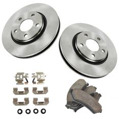05-08 Lacrosse; Grand Prix; SV6, Relay, Uplander Fr Ceramic Pands & Rotors Set