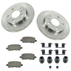 04-09 Grand Prix, Lacrosse, Alluere Rear Ceramic  Pad w/HW & Rotors Set