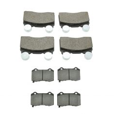 10-15 Camaro;15-17 Chevy SS Front & Rear  Premium Posi Ceramic Disc Brake Pad Kit