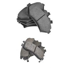 Buick, Cadillac, Chevy, Olds Pontiac Multifit Front & Rear Posi Ceramic Brake Pad Kit