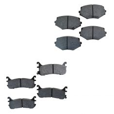 90-97 Miata Brake Pads Front & Rear HP Plus (Hawk)