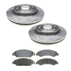 Raybestos Service Grade Disc Brake Pads & Rotor Set  580279R , SGD1092C