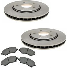 Raybestos Service Grade Disc Brake Pads & Rotor Set  SGD1273C, 780624R