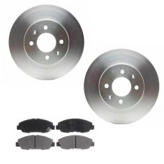 Front Disc Brake Rotor (Raybestos Professional Grade) Pads & Rotor Set SGD465C, 96087R