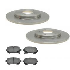 REAR Ceramic Disc Raybestos Brake Pad & Rotor Kit (780623R & SGD1326C)