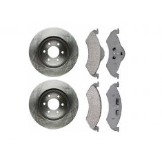 Brake Rotor & Raybestos Brake Pad Set