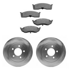 Raybestos Service Grade Disc Brake Pads & Rotor Set Front SGD730M, 76722R