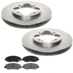 Raybestos Service Grade Disc Brake Pads & Rotor Set SGD465C,  96111R