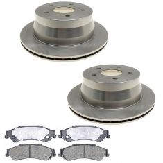 Raybestos Service Grade Disc Brake Pads & Rotor Set  SGD729C, 56707R