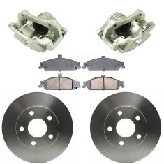 97-03 Chevy Malibu NEW Front Brake Caliper, Ceramic Pad & Rotor Kit (Raybestos)