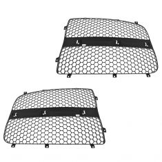 02-05 Dodge Ram 1500; 03-05 2500; 3500 Gray Grille Insert PAIR