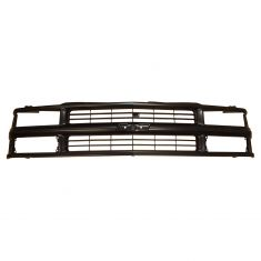 94-02 Chevy PU Truck Grille w/Comp HL Blk