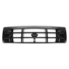 92-97 Ford PUTruck Grille Blk